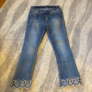 Miss Me Crop Boot Jeans